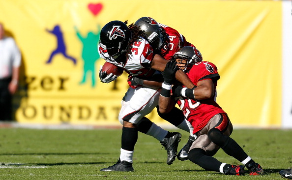 Atlanta Falcons: Samuel, Robinson, Jerry sit out practice