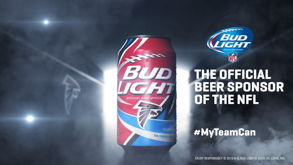 Atlanta Falcons Bud Light Can
