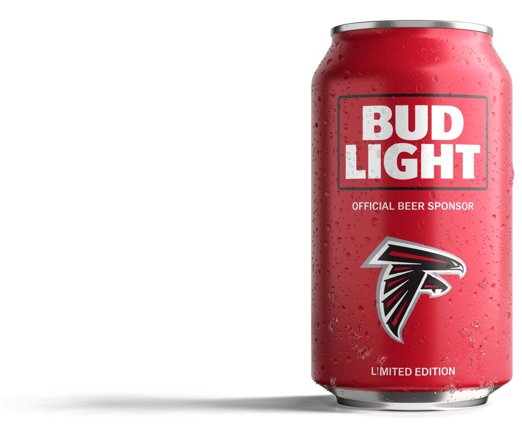 Bud Light Falcons Can