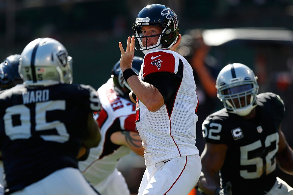 Atlanta Falcons v Oakland Raiders